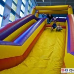 Bouncing Inflatable Slide in IKEA