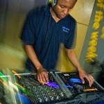 DJ in IKEA Cardiff